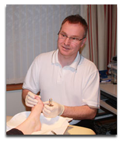 Mark Hughes, Podiatrist